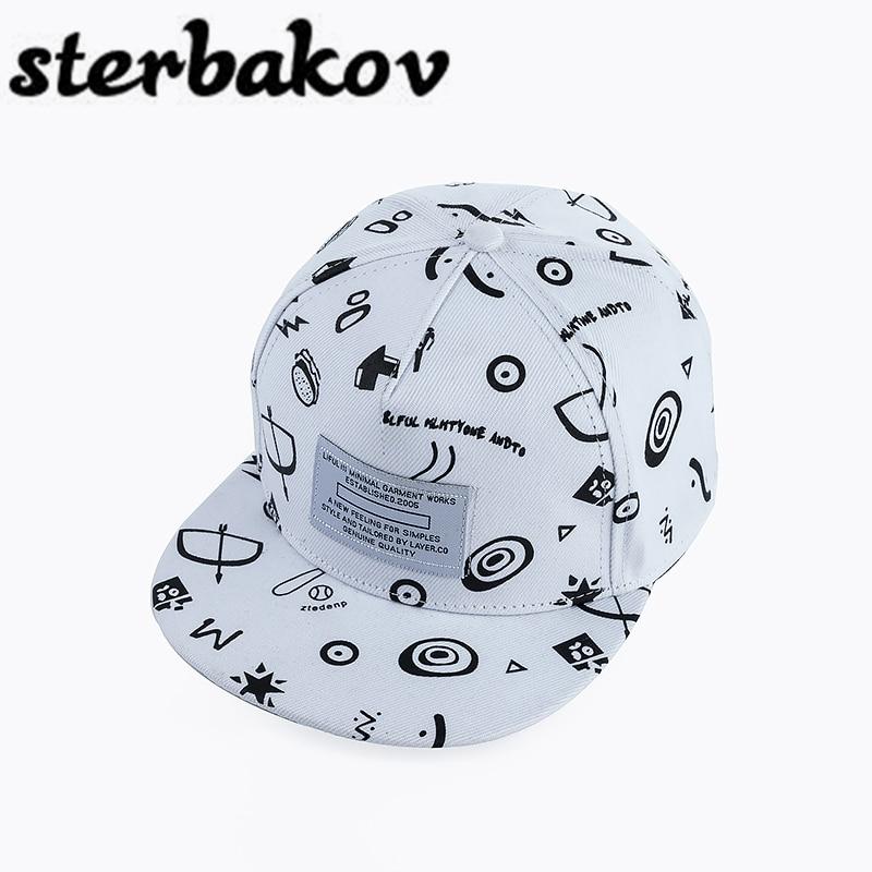 Brands sterbakov printing Pattern Men Women Hat Hats Baseball Cap Fashion trends Hip Hop Snapback Caps Bone