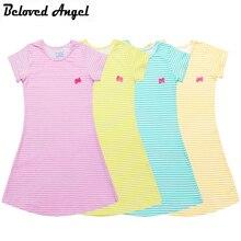Dress Cotton Baby-Girls Party-Wear Meninas Summer-Style Kids Princess Children Casual