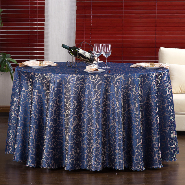 Europe Style Hotel Tablecloths Printed Round Table Cloth Tablecloths High  Quality Table Cloth Overlay Banquet Mantel