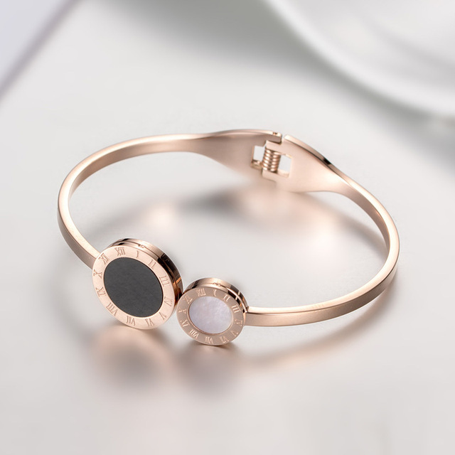 Купить браслет из титановой стали римский цифровой браслет ракушек