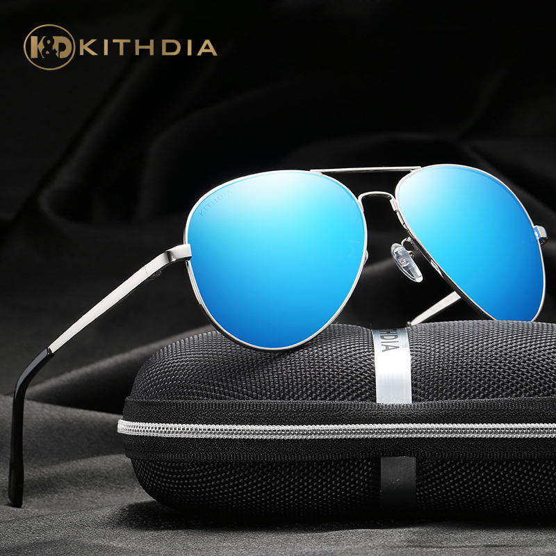 KITHDIA Men's Alloy Polarized Mens Sunglasses Mirror Sun Glasses Square Goggle Eyewear Accessories For Men Female gafas #KD3025L