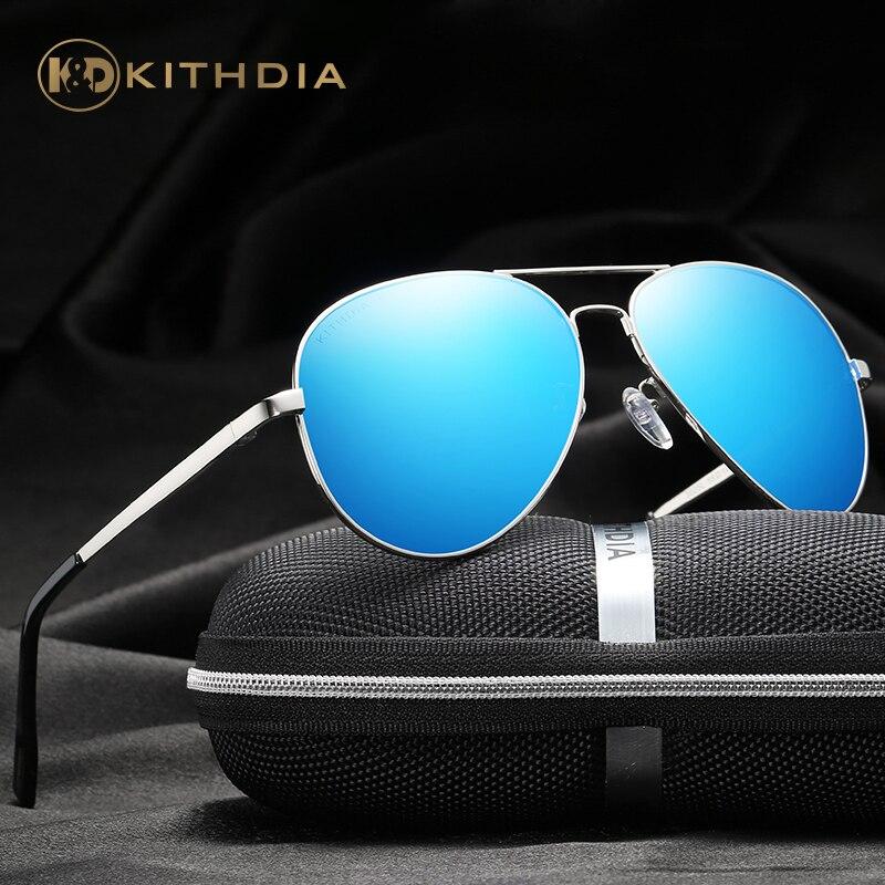 KITHDIA Men's Alloy Polarized Mens Sunglasses Mirror Sun Glasses Square Goggle Eyewear Accessories For Men Female gafas #KD3025L