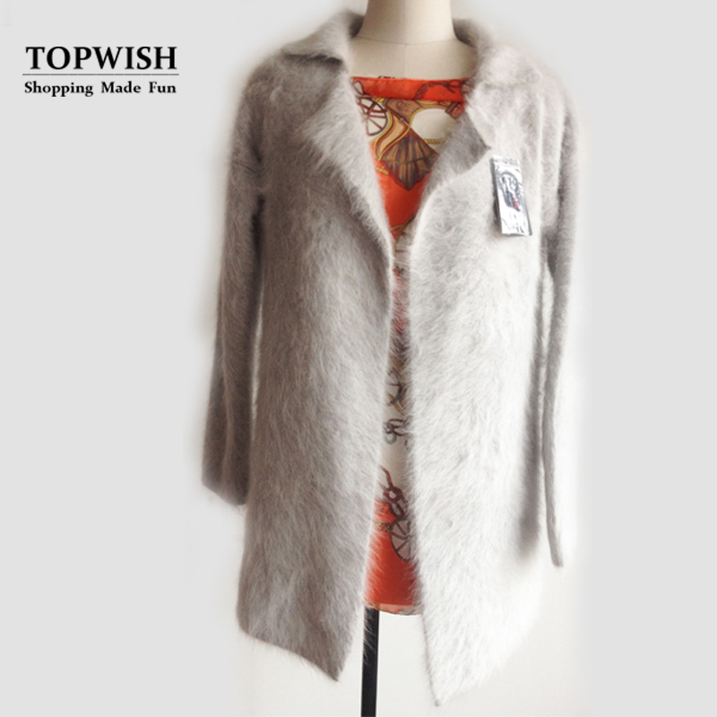 New Arrival Women Real Mink Fur Warm Coat Natural mink fur luxury fur long coat Free