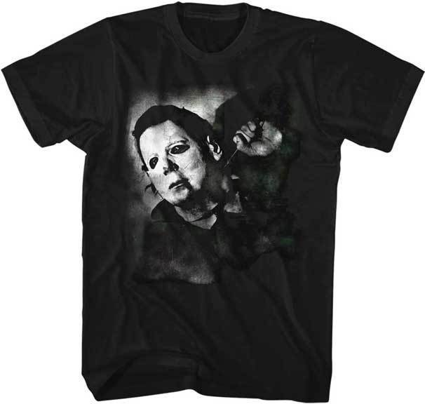 Halloween Michael Myers Is Watching You Adult T Shirt Great Scary Movie