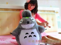 60cm Cartoon totoro plush toy doll , lovers/christmas gifts birthday gift ,free shipping