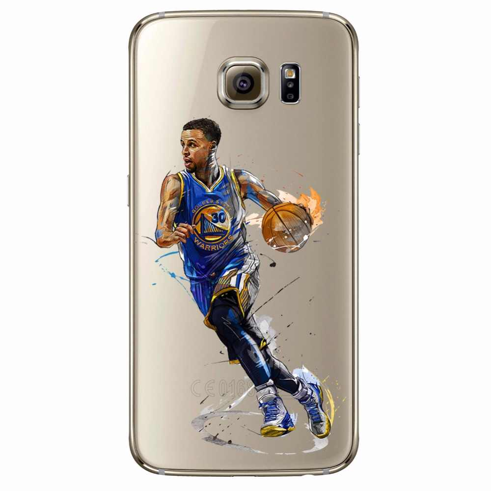 bb37b75a2b13 ... ciciber Basketball Curry Harden James Iverson Phone Cases For Samsung  Galaxy S7 S9 S6 Edge S8 ...