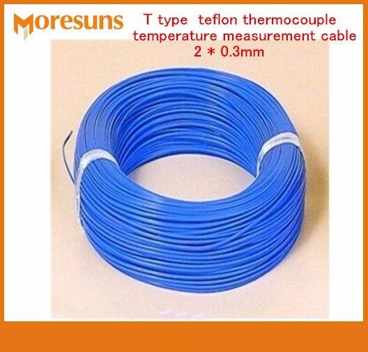 50M T Type Four Fluorine Temperature Measuring line Teflon ...
