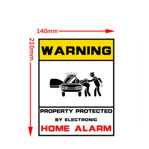 Image 5 - Waterproof Home CCTV Video Surveillance Security Camera Security Home Alarm Sticker Warning Decal Signs