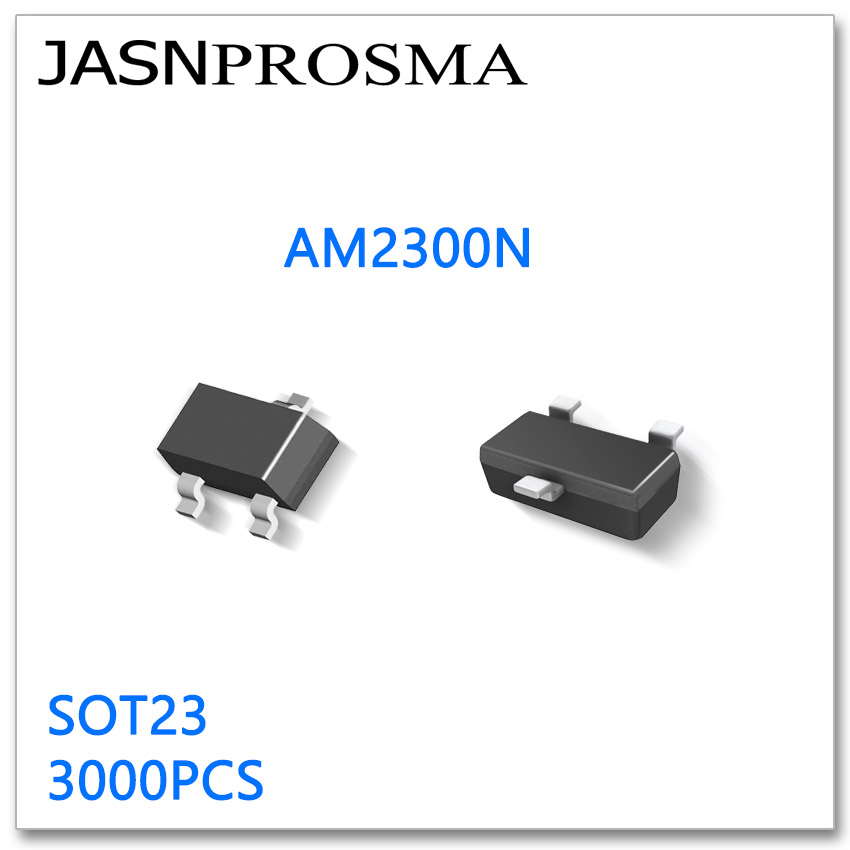 JASNPROSMA AM2300N SOT23 3000PCS Rds=35mR 50mR @4.5V N-Channel 20V AM2300 AM