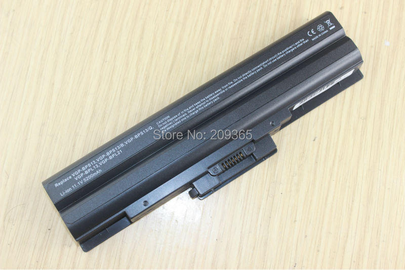 BATTERIA 4400mah per Sony VAIO vgn-sr130es vgn-sr130nb vgn-sr21m