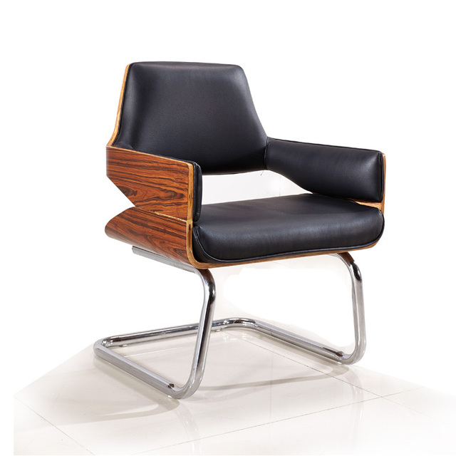 Card Sandee Modern Minimalist Fashion Chair Study Chair Presidential Chair  Ming And Leather Dining Chairs Wood