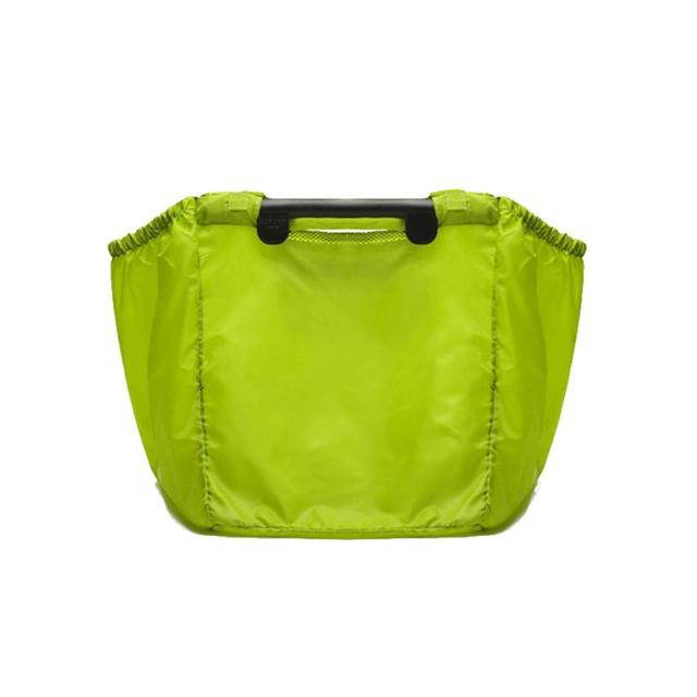 Portable Large Capacity Shopping Storage Bag Lime Grab Bags Clip-To-Cart Supermarket Reusable Grocery Shopping Travel Bag 2JY27