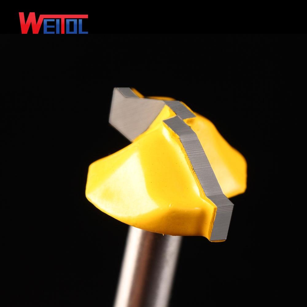 Weitol 1db 6.35mm luxus arany coler ajtó deszka vágó minta CNC - Szerszámgépek és tartozékok - Fénykép 3