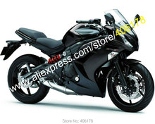 Hot Sales,For Kawasaki Ninja 650R ER-6F 2012 2013 2014 2015 Parts ER6F ER 6F 650 R 12 13 14 15 All Black Aftermarket Fairing Kit