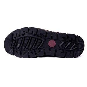 Image 5 - Mynde 2019 Nieuwe Mode Stijl Lederen Lente Casual Schoenen Mannen Handgemaakte Vintage Loafers Flats Hot Koop Mocassins Big Size 38 48