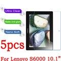 """Для Lenovo IdeaTab S6000 10.1 """"Защитные Пленки для Экрана HD Clear Matte Антибликовым покрытием Nano Anti-Взрыв для lenovo s6000 защитная пленка"""
