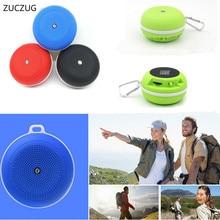 ZUCZUG NEW Bluetooth Speaker Outdoor Portable Wireless Mini Waterproof Speaker Hands-free Call Mic for Phone PC MP3 Speaker nfc bluetooth speaker with mic hi fi sound hands free call