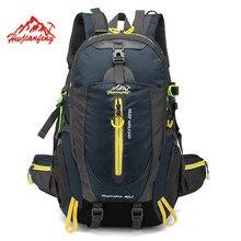 Водонепроницаемый альпинизм рюкзак 40L Спорт на открытом воздухе Дорожная сумка отдых Пеший Туризм рюкзак Для женщин рюкзак походы сумки для Для мужчин