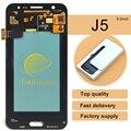2016 nova 2 pcs frete grátis display lcd do telefone móvel para samsung galaxy j5 j500 j500f peças de reposição de toque digitador da tela