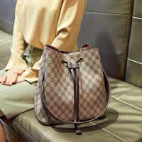 Top Quality Neo Bucket Bag Luxury Handbags Women Bags Fashion Brand Handbags Lady Totes Print Large Capacity Bucket Bag