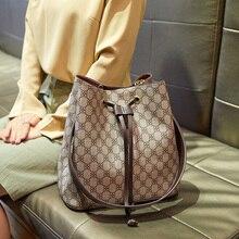 Top Quality Neo Bucket Bag Luxury Handbags Women Bags Fashion Brand Lady Totes Print Large Capacity