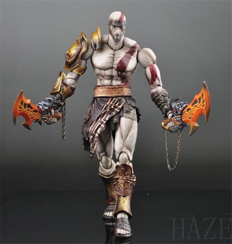 Play Arts Kai God of War Ghost of Sparta Kratos PVC Action Figure Figurine