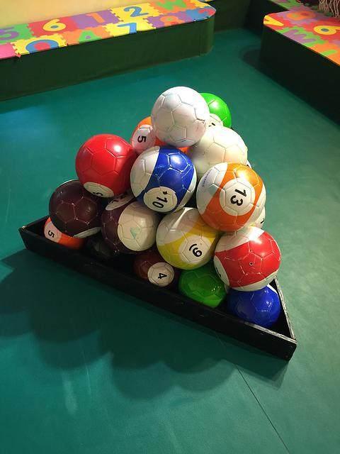 Online Shop Pcs Gaint Snookball Snook Ball Snooker Street - 7 inch pool table