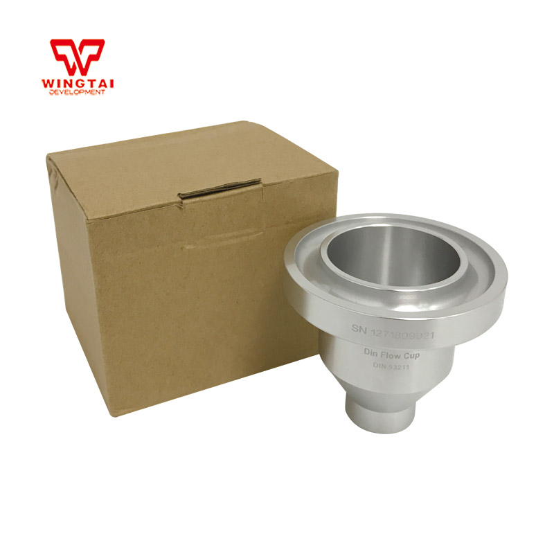 DIN 53211 Din 4 Flow Measuring Cup For Any type fluid viscosity