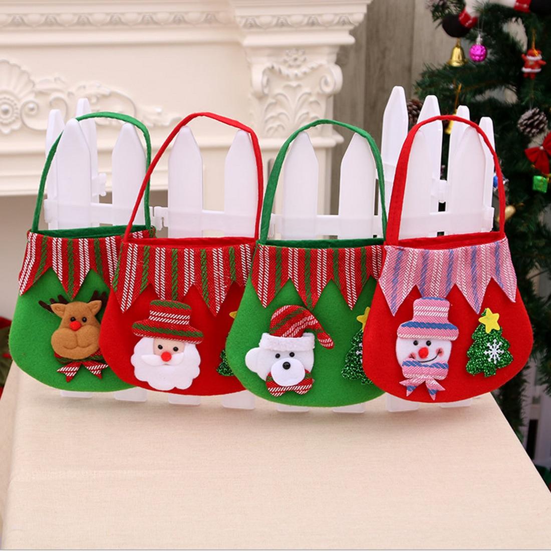 Weihnachten Weihnachtsmann Kinder süßigkeiten geschenk taschen ...