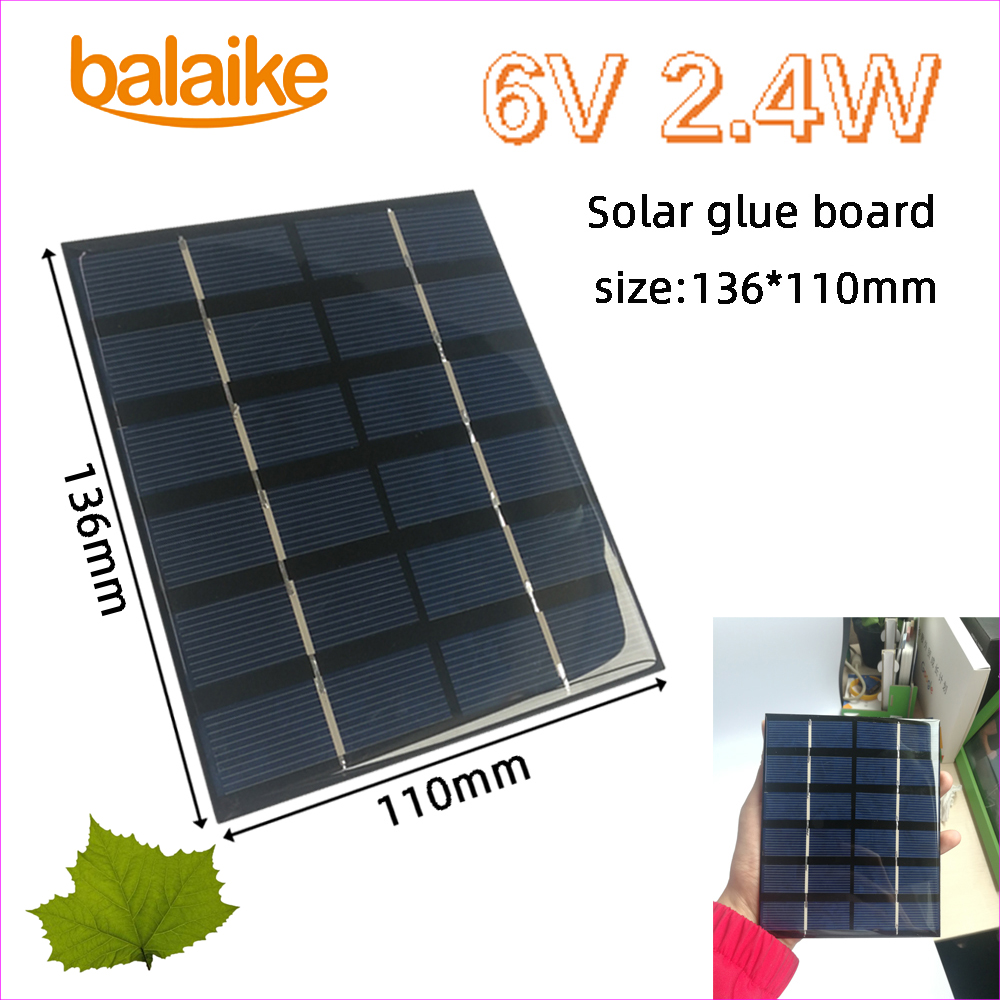 Solar Panel Power Cells 100PCS DIY Phone Charger Poly Crystalline Silicon Board