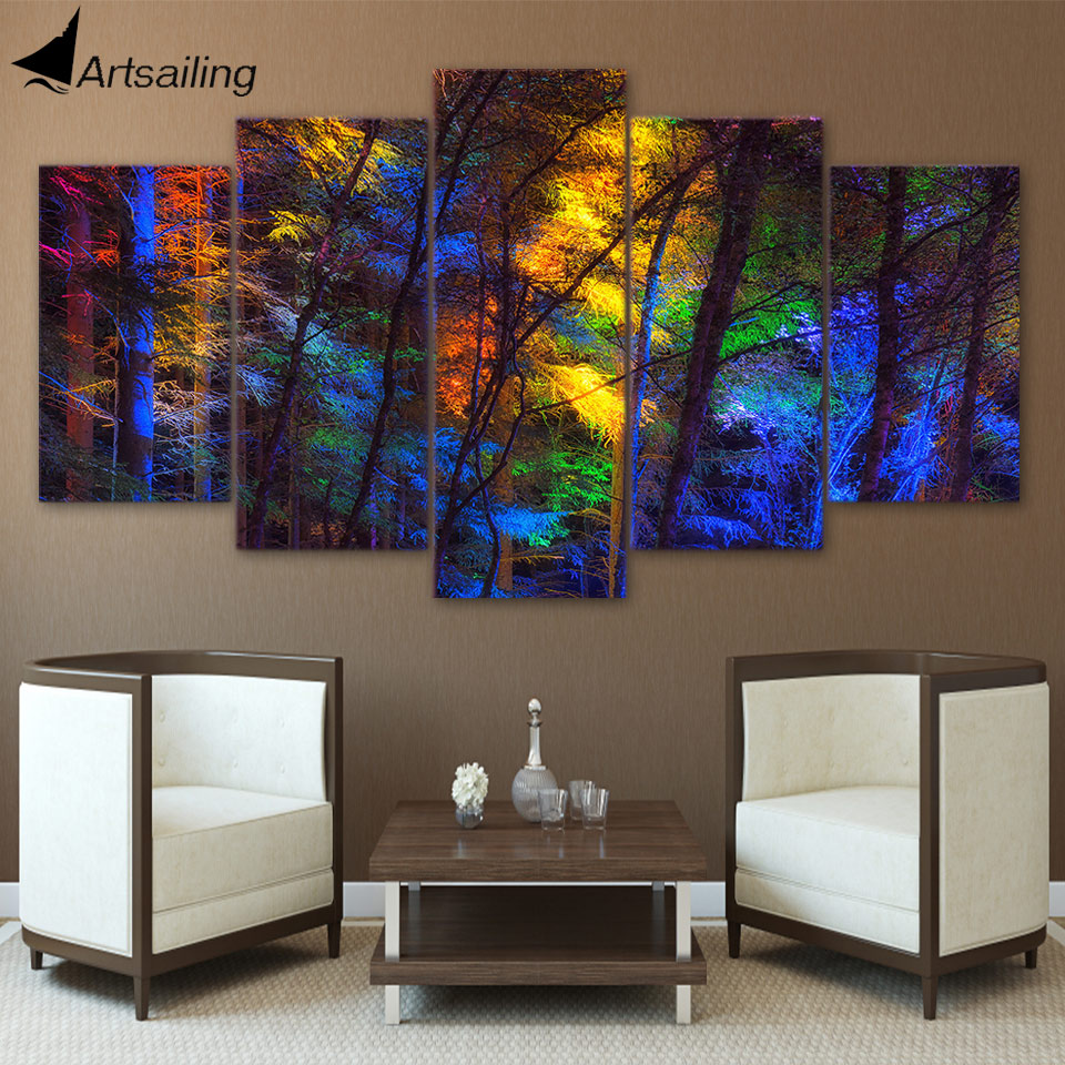 Living Room Canvas Paintings Popular 5 Piece Canvas Art Buy Cheap 5 Piece Canvas Art Lots From