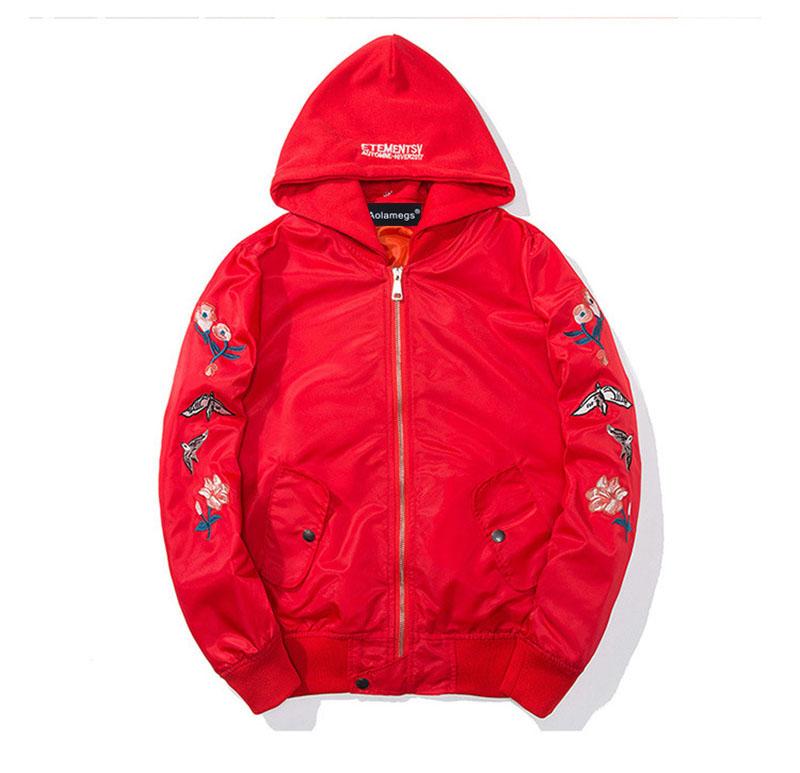 Aolamegs Bomber Jacket Japanese Embroidery Thin Men's Jacket Couple Hip Hop Fashion Outwear Autumn Men Coat Baseball Jackets New (9)