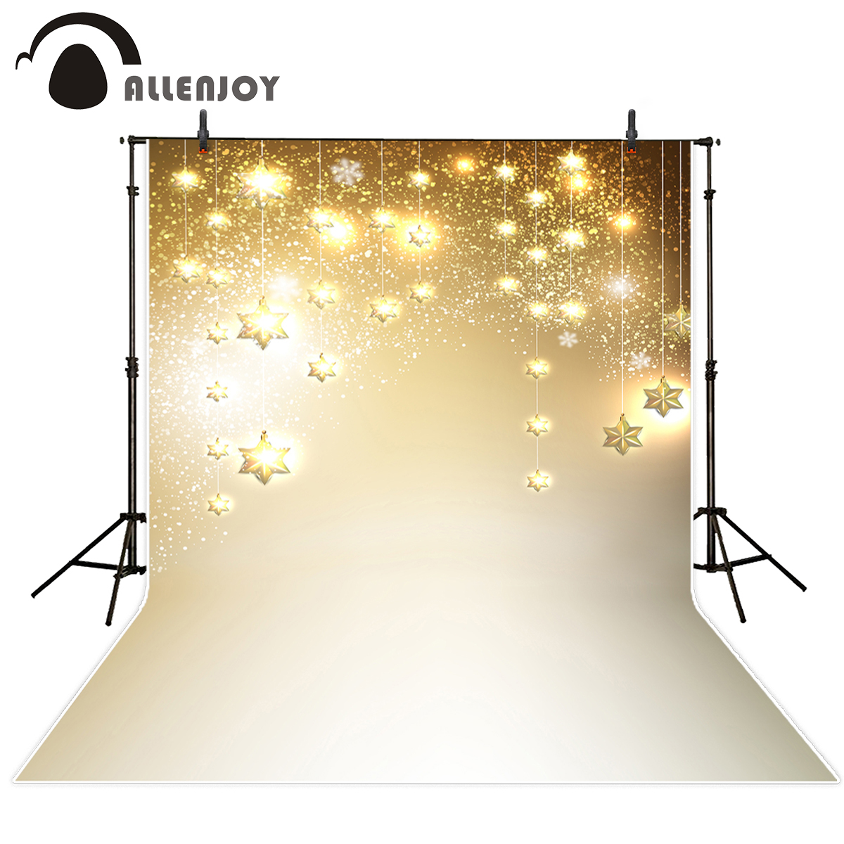 Allenjoy photography backdrops shiny golden star glitter backgrounds for photo studio background for photographic studio 300w solar system complete kit 3pcs 100w photovoltaic pv solar panel system solar module for rv boat car home solar system