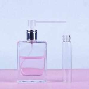 Image 2 - 5 adet/grup plastik parfüm dağıtıcı araçları şırınga dolum pompası huni kozmetik aracı doldurulabilir şişe örnek parfüm şişesi