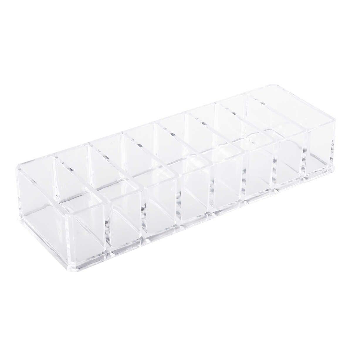 Acrylic Eyeshadow Organizer Lipstick Holder Cosmetic Storage Box Makeup Organizer Cosmetic Tool Sundries Display Box