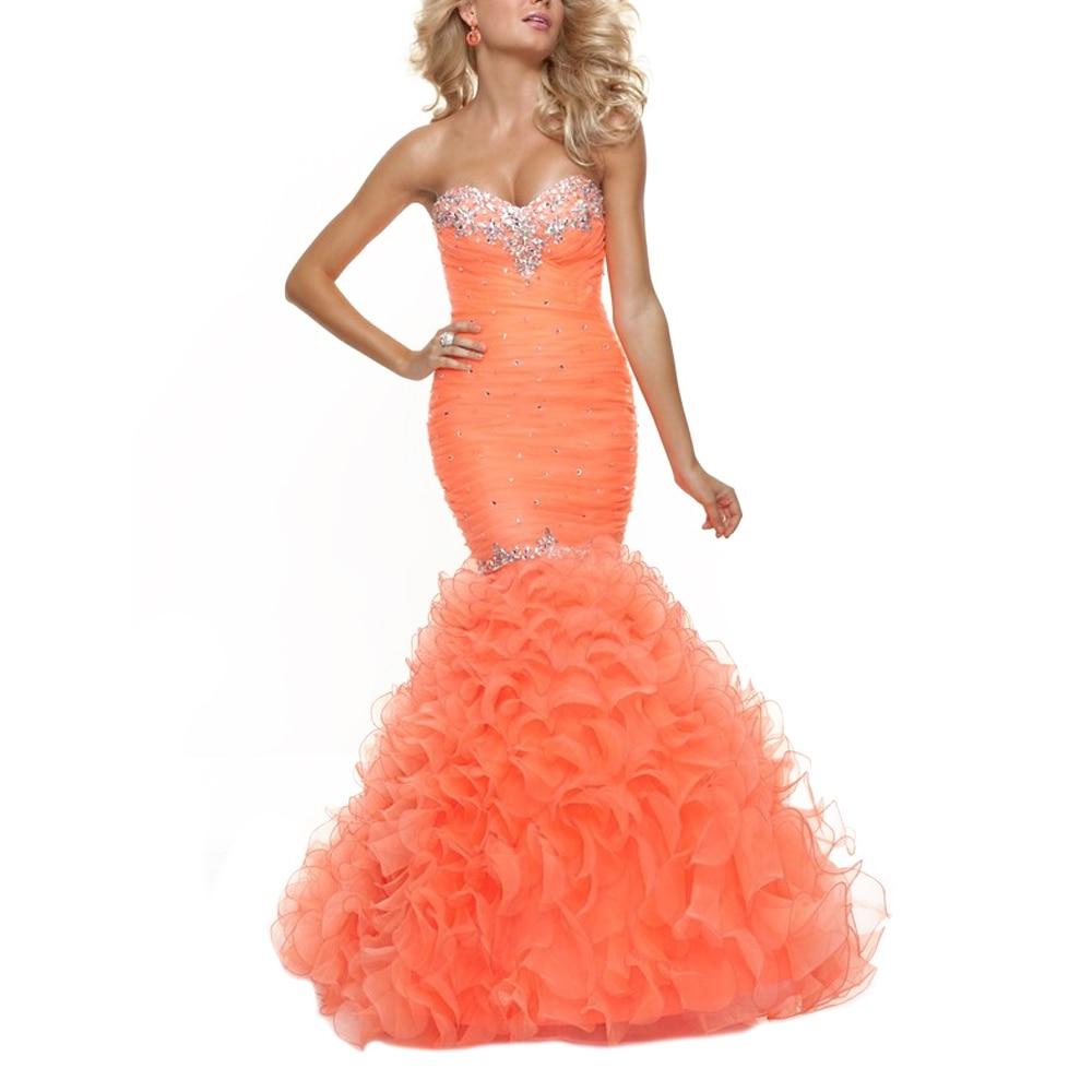 Online Get Cheap Orange Prom Dresses -Aliexpress.com | Alibaba Group