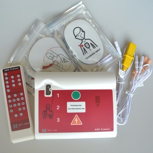 Image 2 - CE Approved Hospital Automatic External AED Trainer/Simulation First Aid Training Device With Pad In English And Hungarian