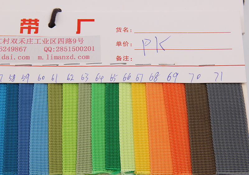 hot sale pp webbing polypropylene webbing 1  free shipping for stock color choose