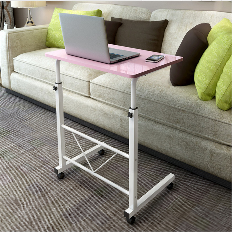 A simple bedside language notebook computer desk folding lazy table bed sofa table learning desk 250633 sofa side stand up and down movable bedside table simple lazy table laptop table bed table with desk