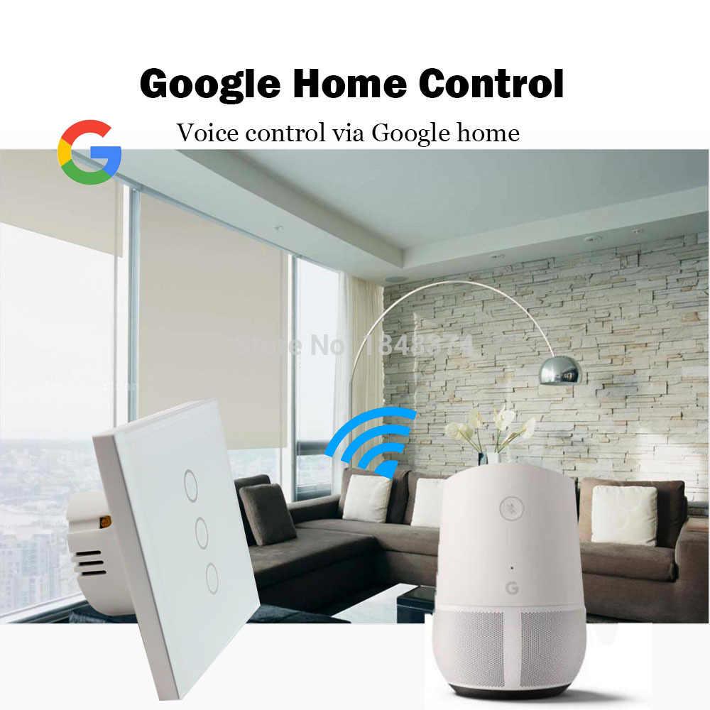 Zemismart ściany osłonowej przełącznik typu ue dla Standard pracy z Google Alexa domu Siri Wifi tuya kontrola aplikacji