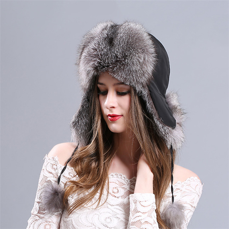 9e5552942540a Item Type  Bomber Hats  Gender  Women  Model Number  L 74  Material  Fur   Pattern Type  Solid  Department Name  Adult