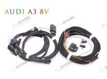 For Audi A3 8V Side Assist Lane Change System install update UPGRADE KIT Wire Cable Harness
