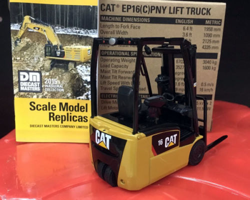 1:25 Scale, Caterpillar Cat, EP16(C) PNY Lift Truck, Diecast Masters DM #85504 cat lift trucks diagnozer 4 04 crack