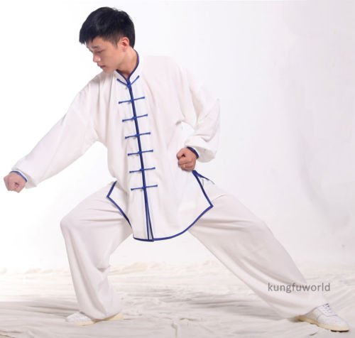 Chinese Tai Chi Suit Martial Arts Kung Fu Wushu Uniform Wing Chun Taiji Clothes