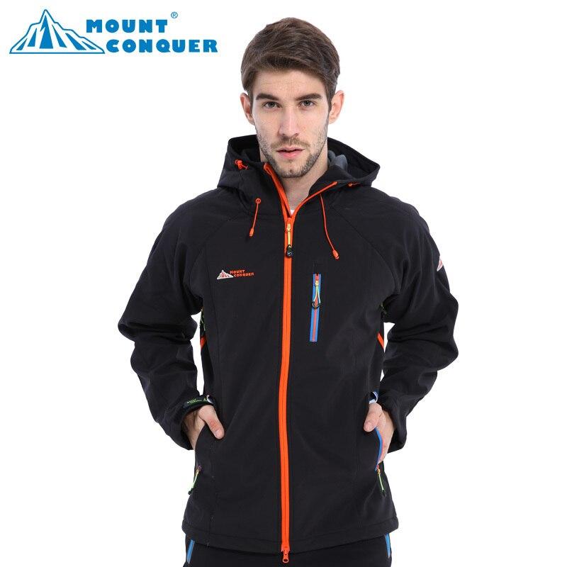 Veste de sport de plein air pour hommes randonnée ou Camping coupe-vent imperméable veste Softshell de haute qualité pour hommes manteau thermique pour hommes