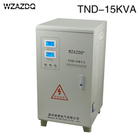 Domestic single phase voltage regulator TND 15KVA air conditioner 15KW high precision 220V automatic 15000W power supply
