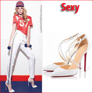 Aliexpress.com : Buy Women size 11 heels red bottom high heels ...