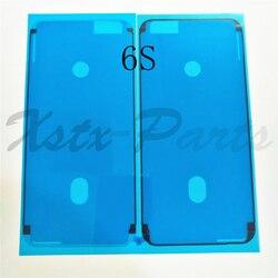 2 개 원래 새로운 전면 LCD 프레임 주택 방수 스티커 접착제 접착제 테이프 아이폰 6 초 6sp 6 초 플러스 7 7 그램 7 마력 7 플러스 8 8 마력 X