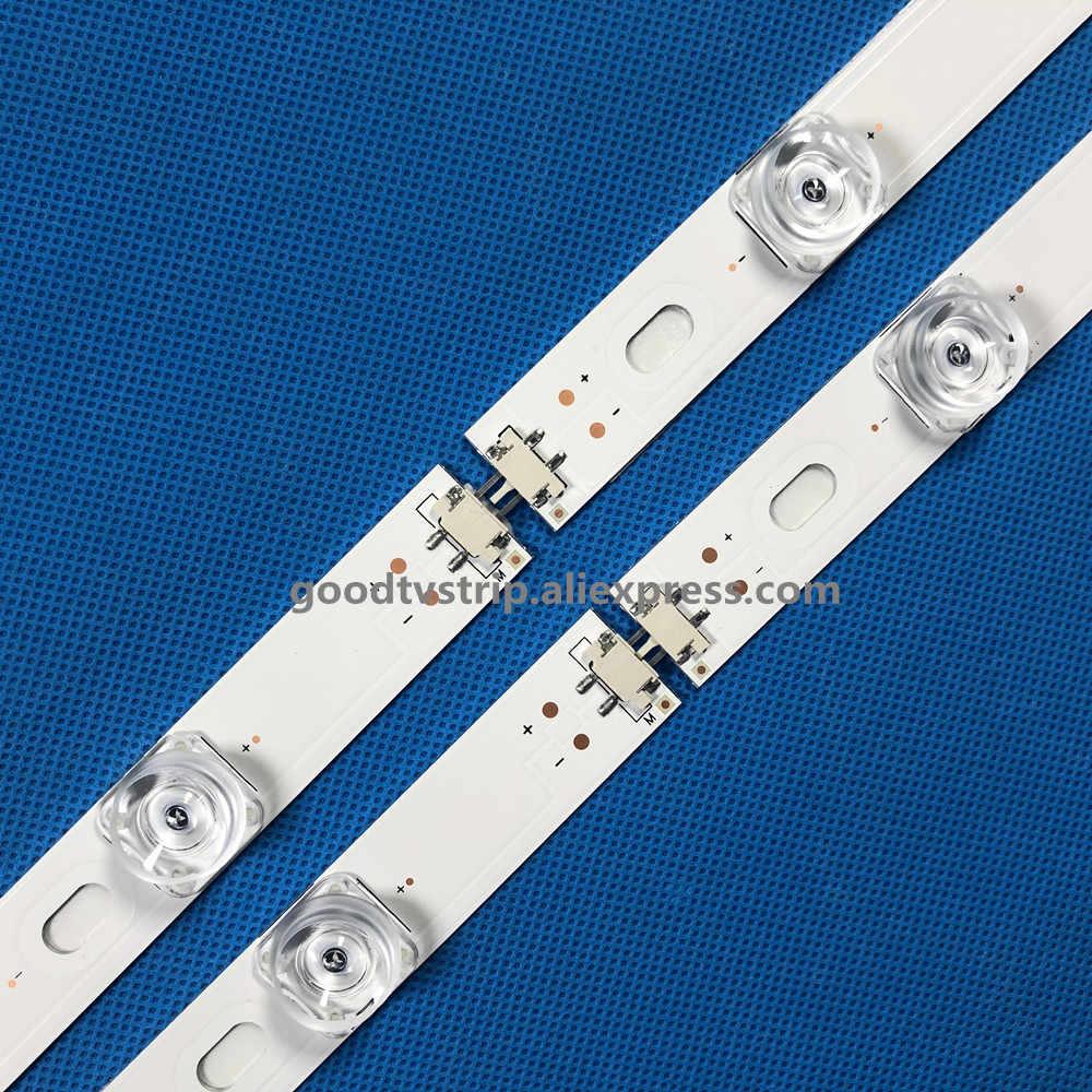 """825 Mm LED Backlight Strip 8 LED LG 43 Inch TV Innotek DRT 3.0 42 """"6916L 1709B 1710B 1957E 1956E 6916L-1956A 6916L-1957A"""
