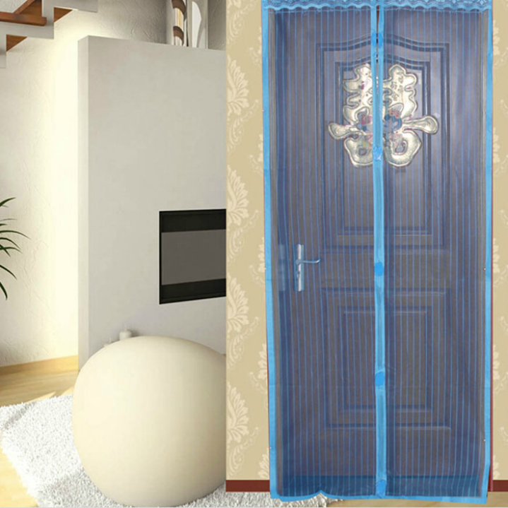 2017 New Magnetic Summer Insect Mosquito Net Curtains Door Screen Curtain Doors Doosan Prevent Mosquitoes From Entering The Room-in Curtains from Home ... & 2017 New Magnetic Summer Insect Mosquito Net Curtains Door Screen ...